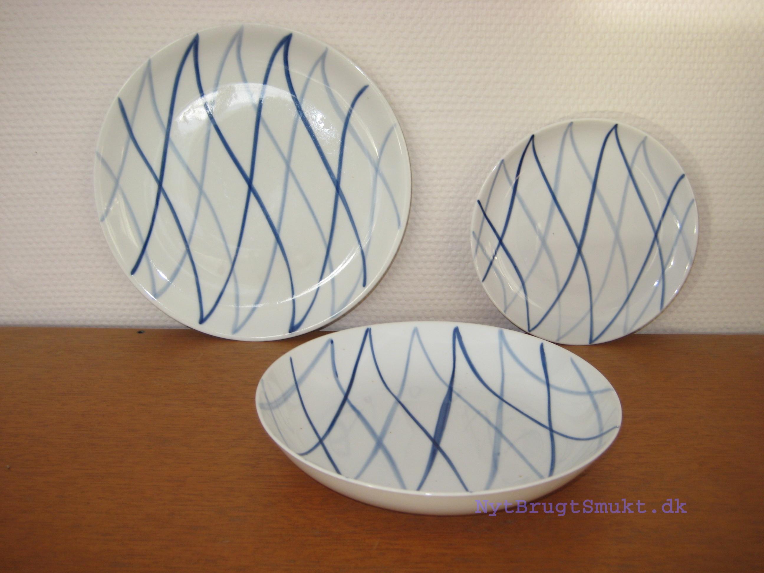 porcelæn brugt
