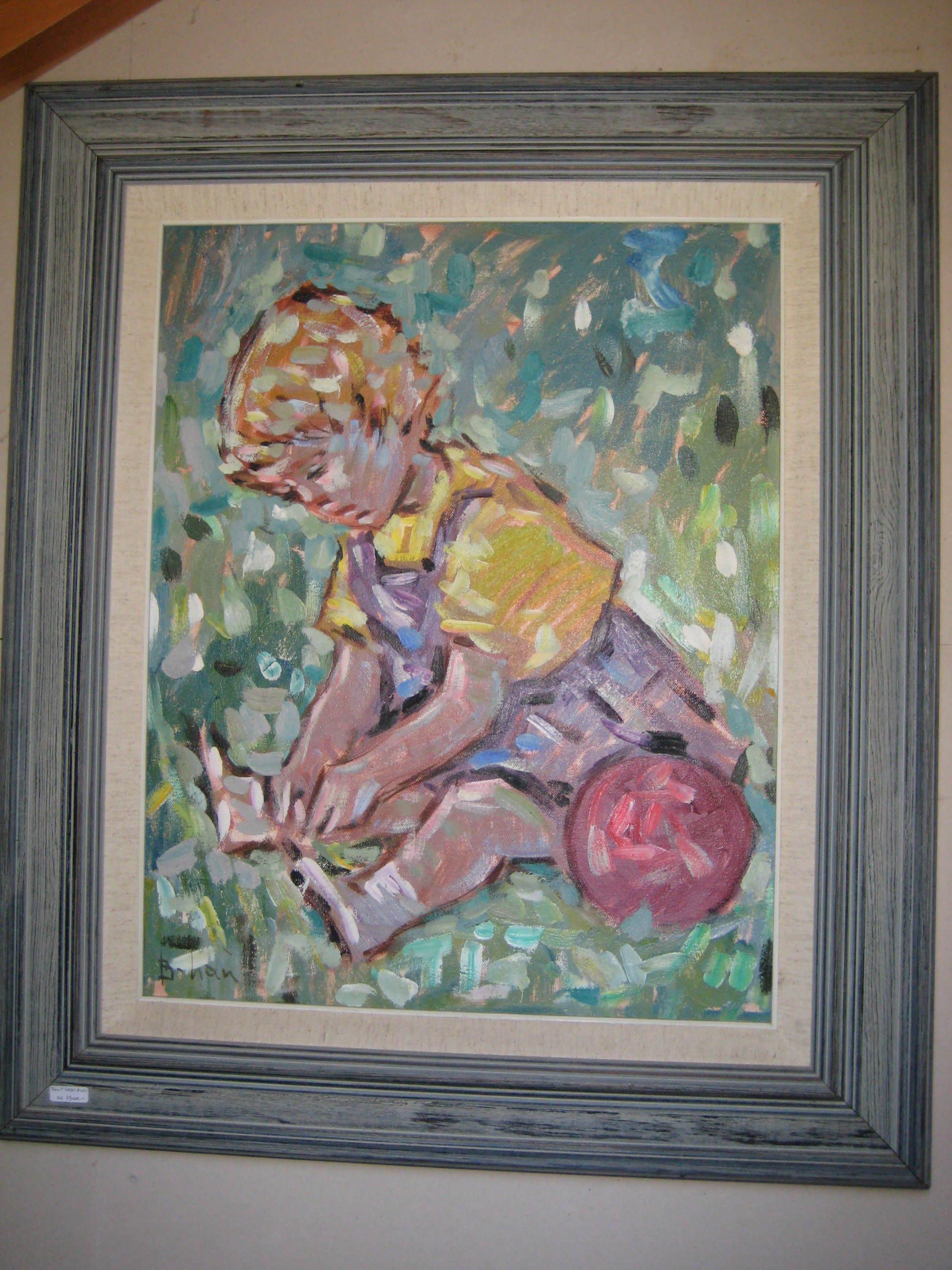 Bent Lauridsen, Lille Pige