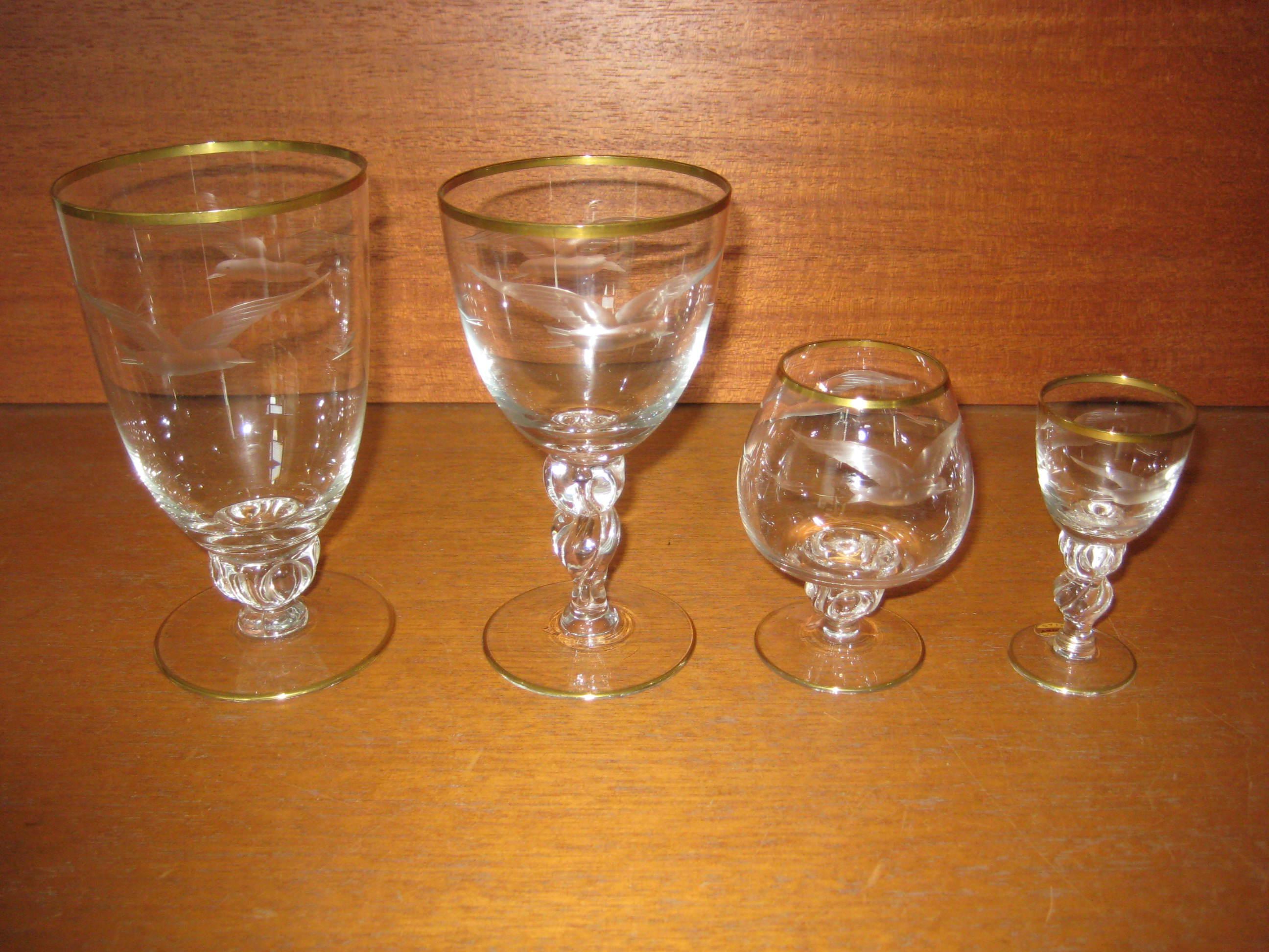 Maageglas fra Lyngby Glasværk