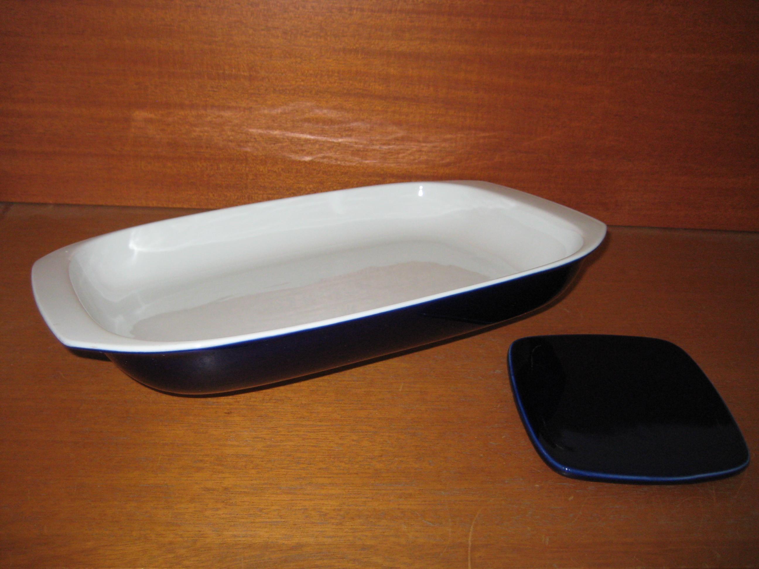 Lyngby Porcelæn, blå glasur
