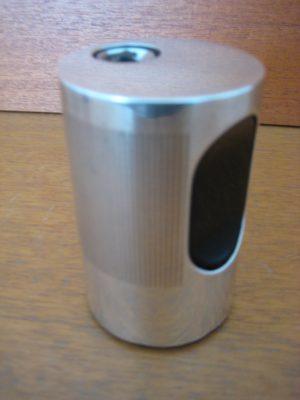 Braun Cylindric lighter, sølv