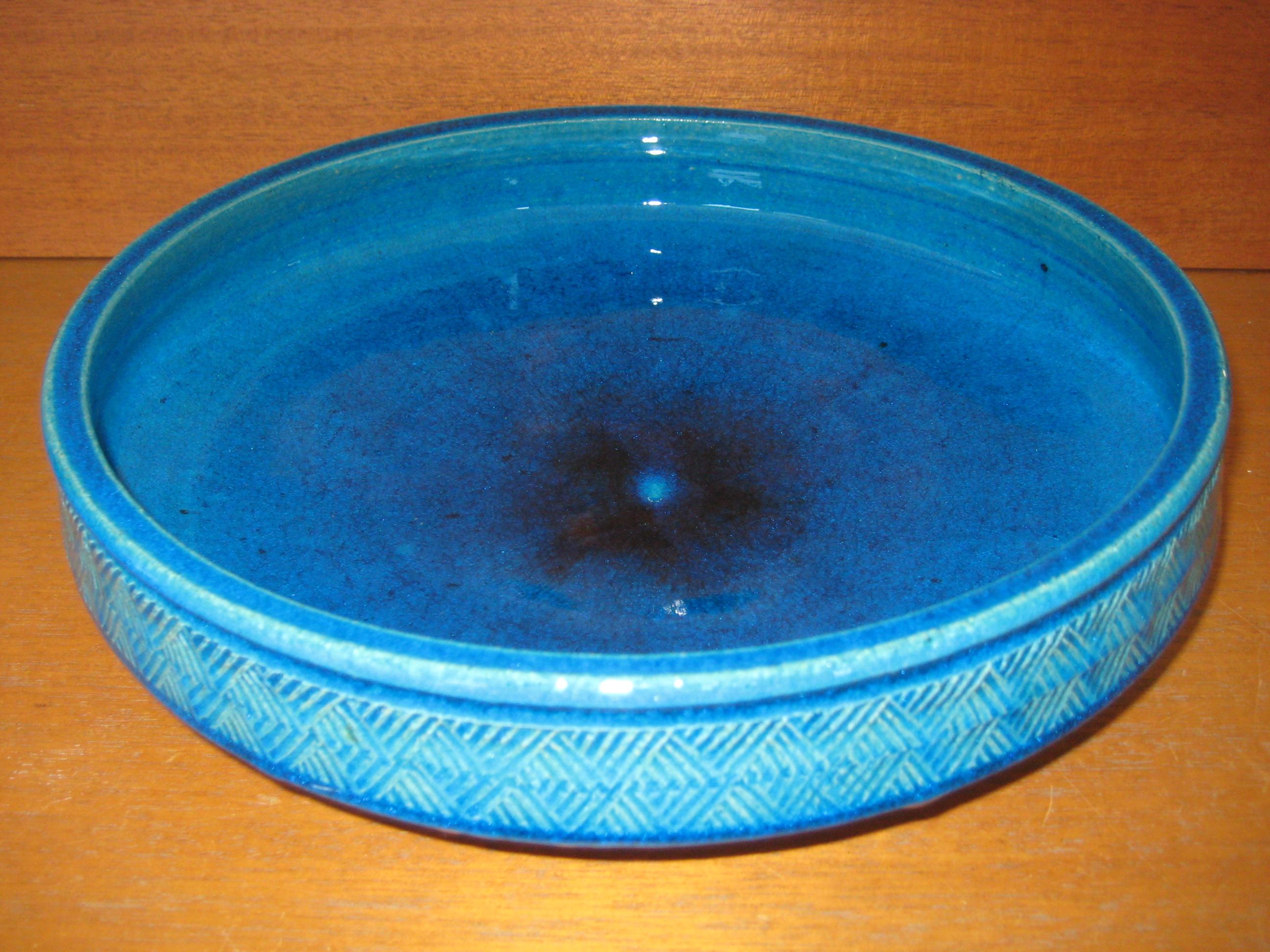 Kähler blåt fad
