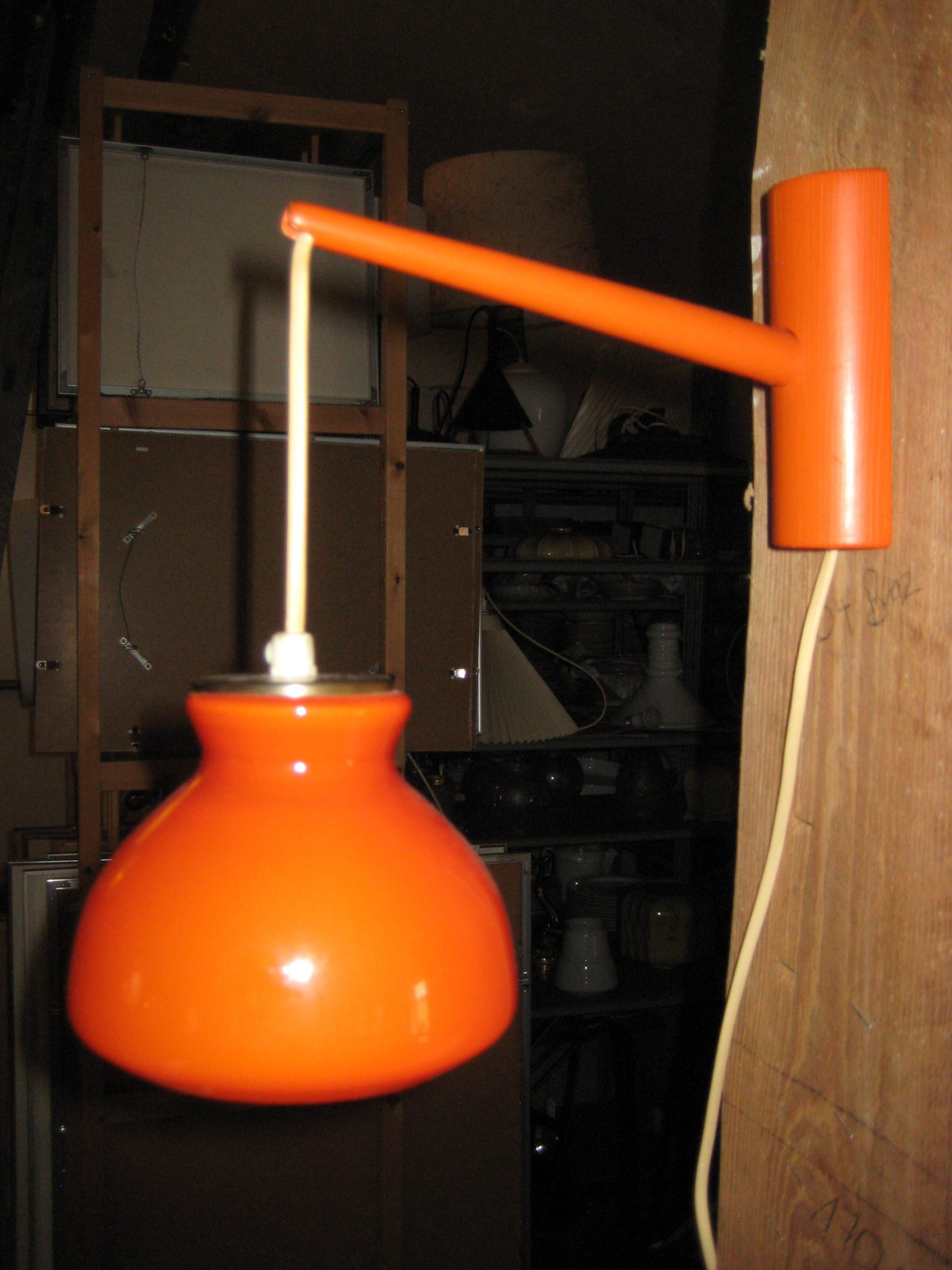 Holmegaard væglampe