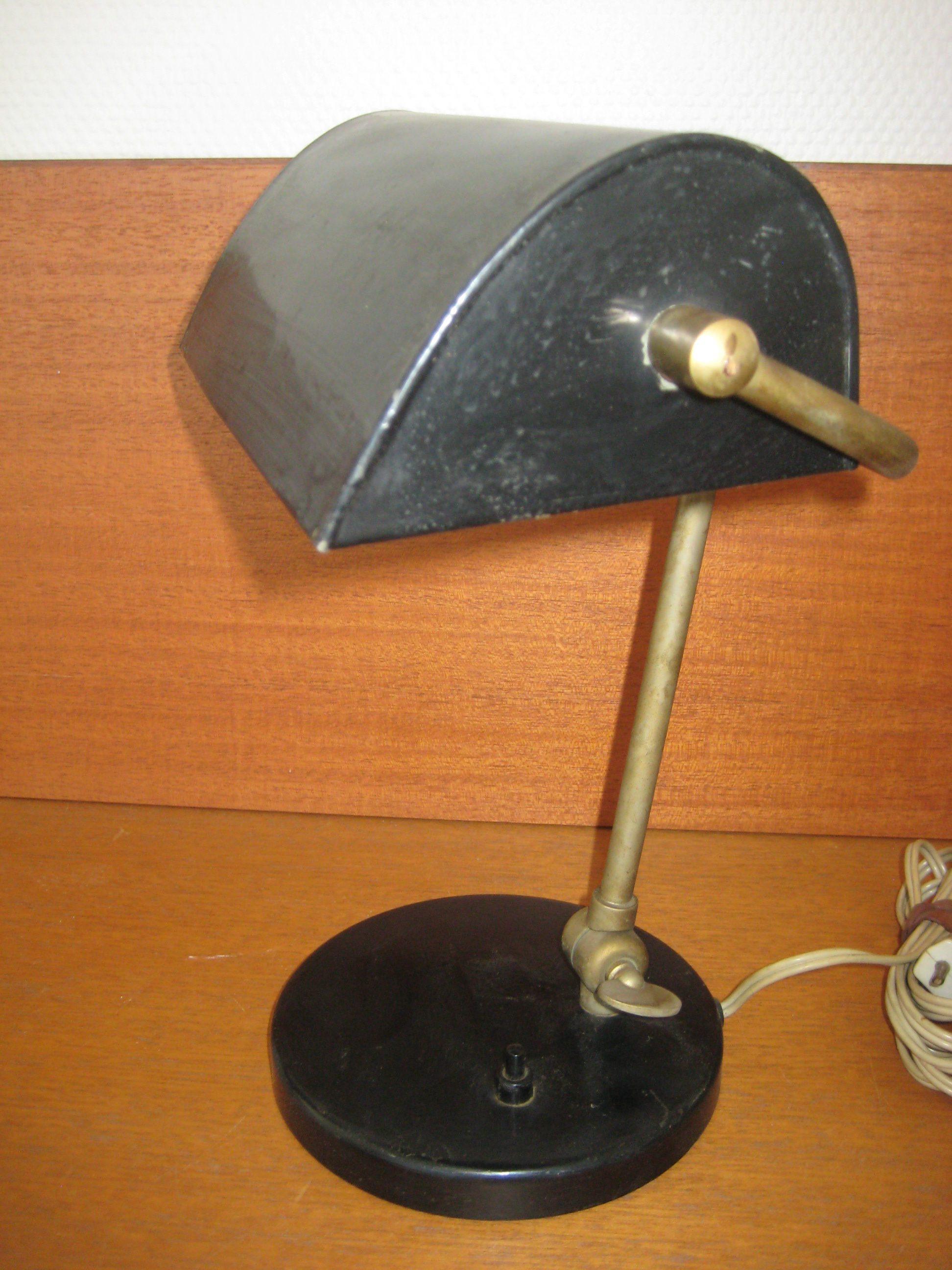 Gammel skrivebordslampe