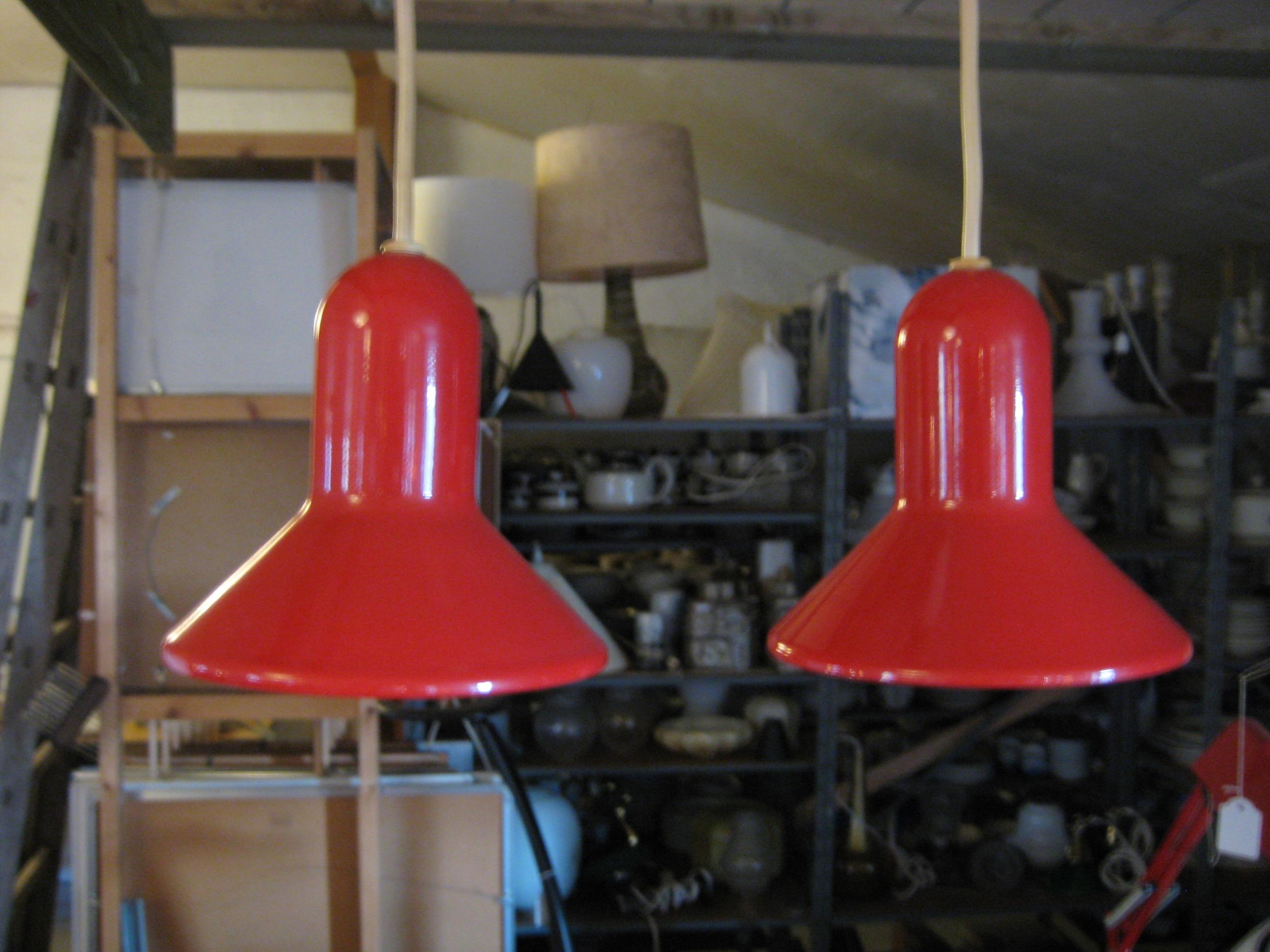 Rød Bell pendel