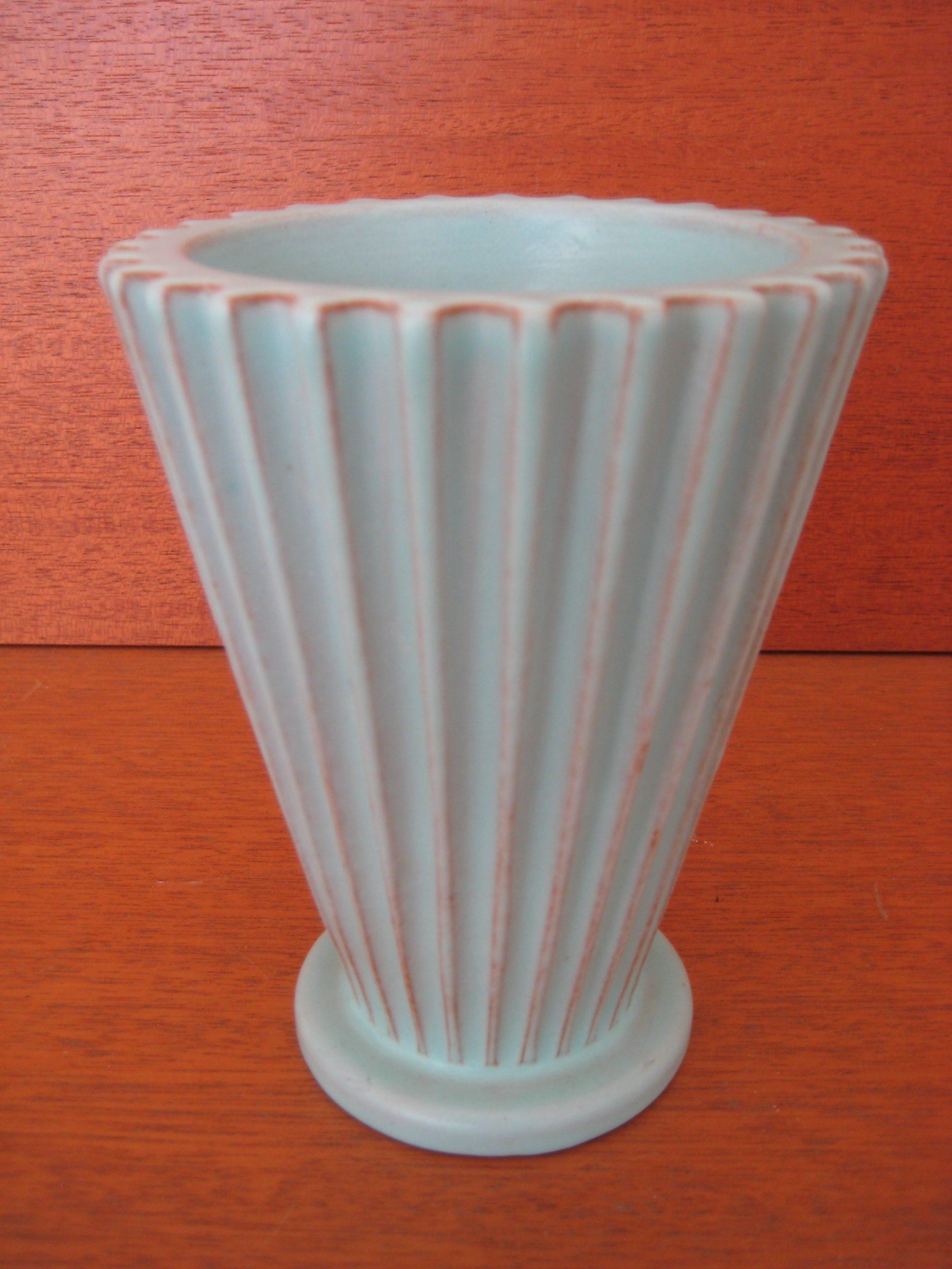Turkis Schollert vase