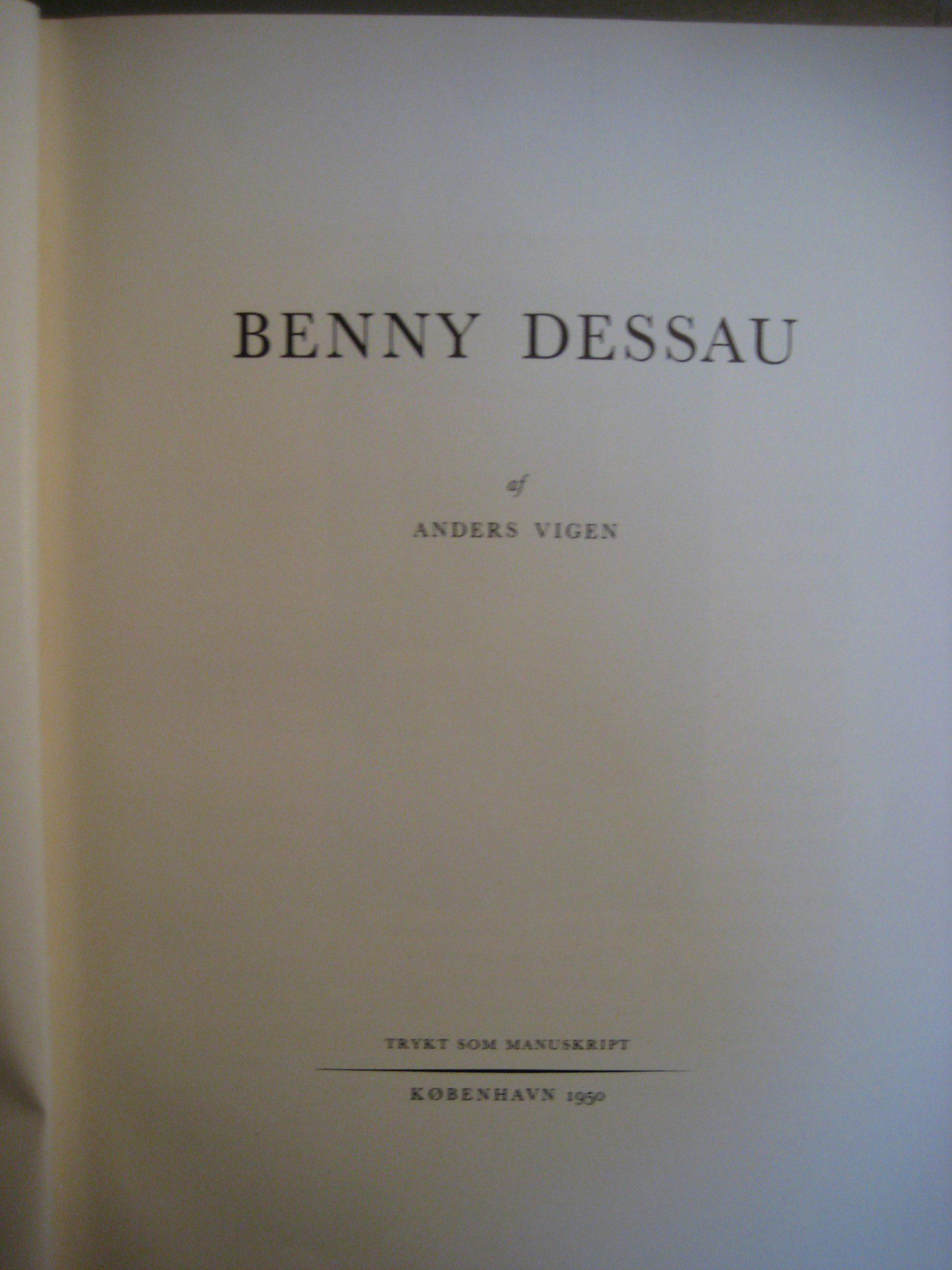 Benny Dessau