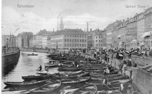 Postkort København Gammel Strand