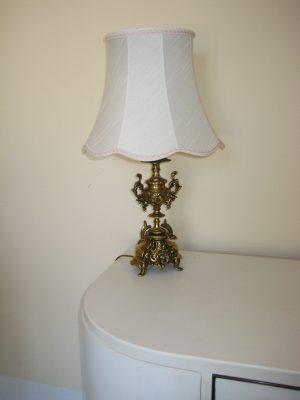 Bronce bordlampe