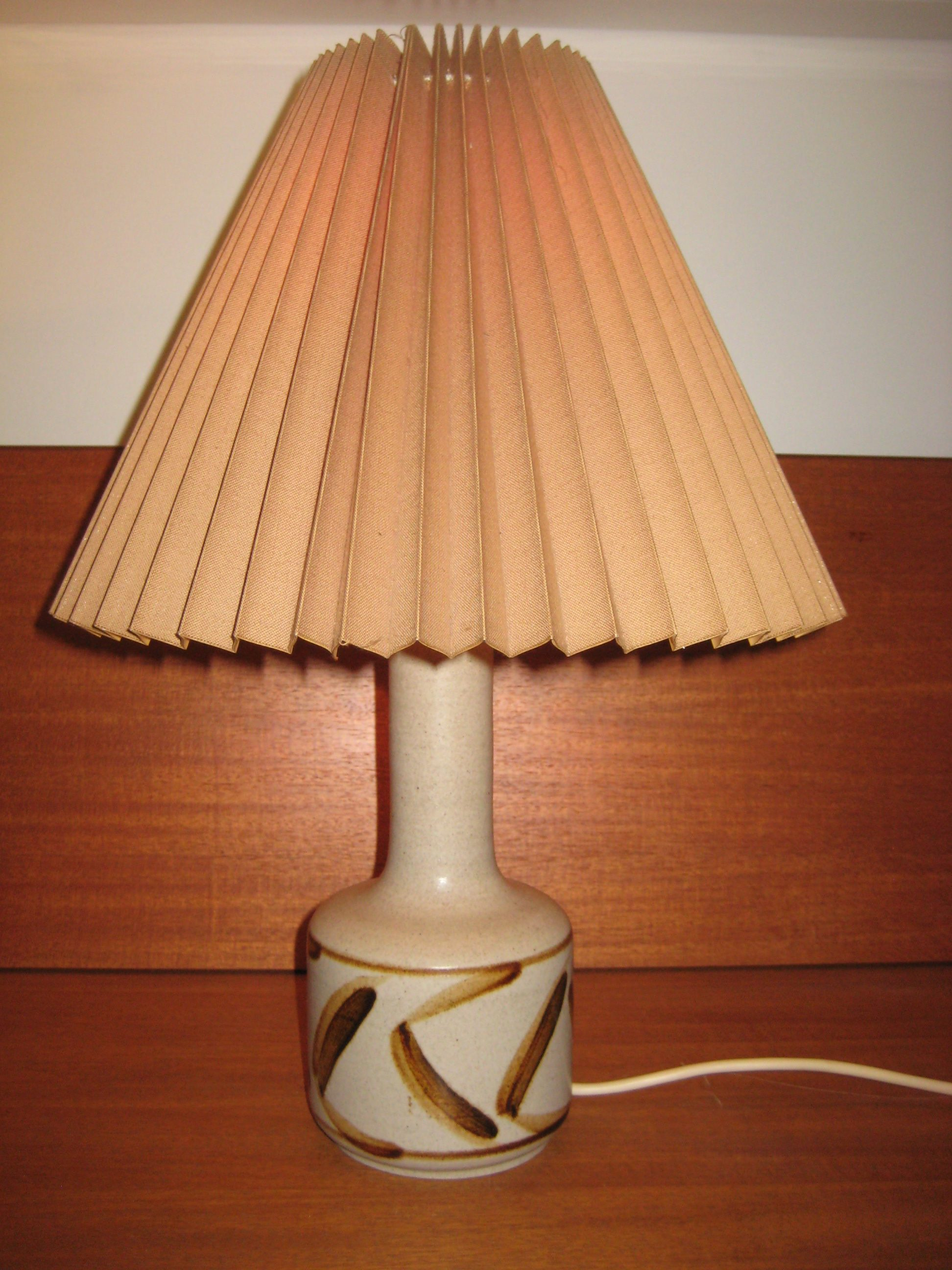 Kähler bordlampe i stentøj