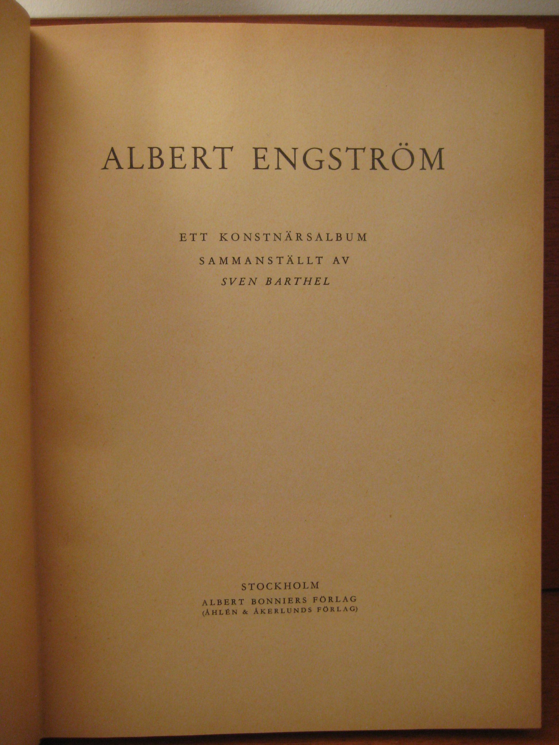 Albert Engström