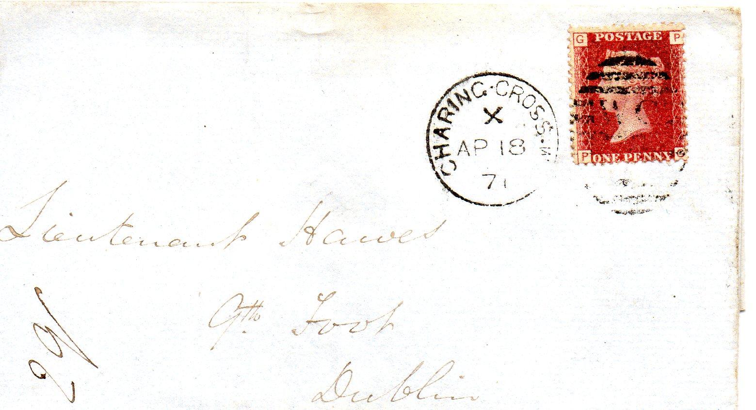 Charing Cross til Dublin 1871