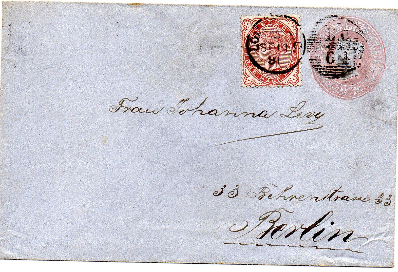London til Berlin 1881