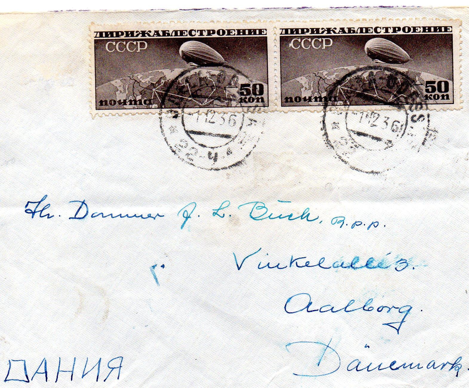 1936 Odessa til Danmark