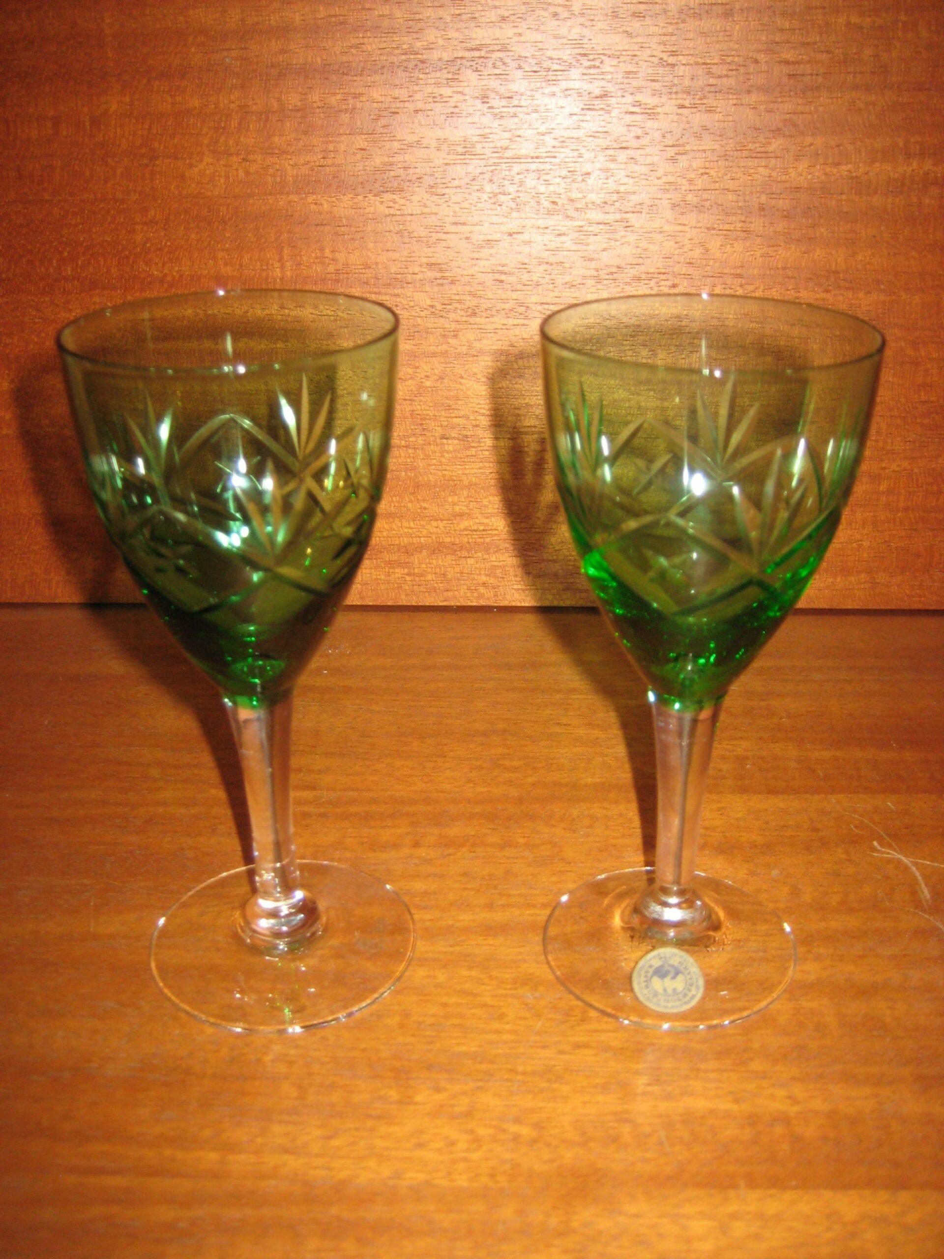 Ulla hvidvinsglas fra Holmegaard
