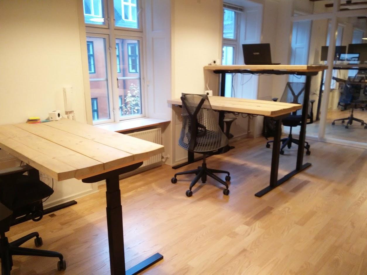 Holmriis hæve/sænkebord