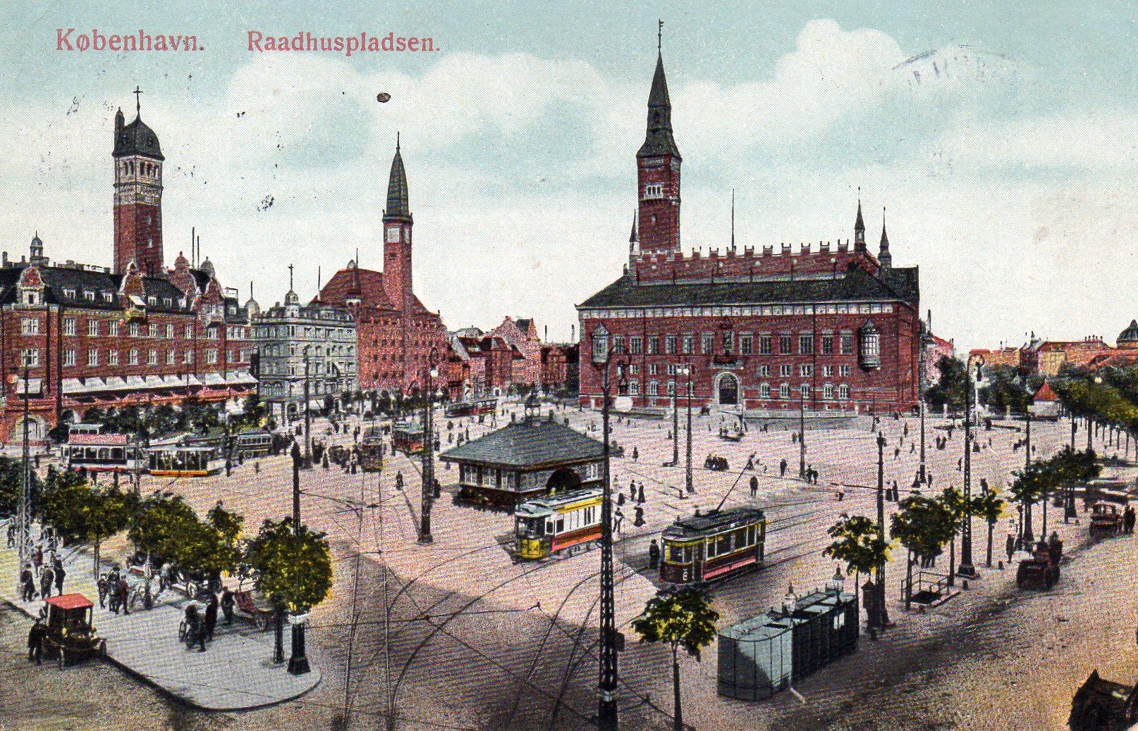 1000 København Rådhuspladsen