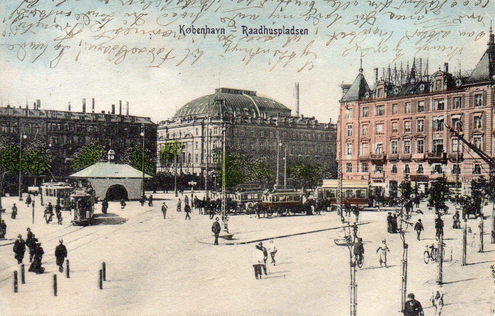 København Rådhuspladsen 1904