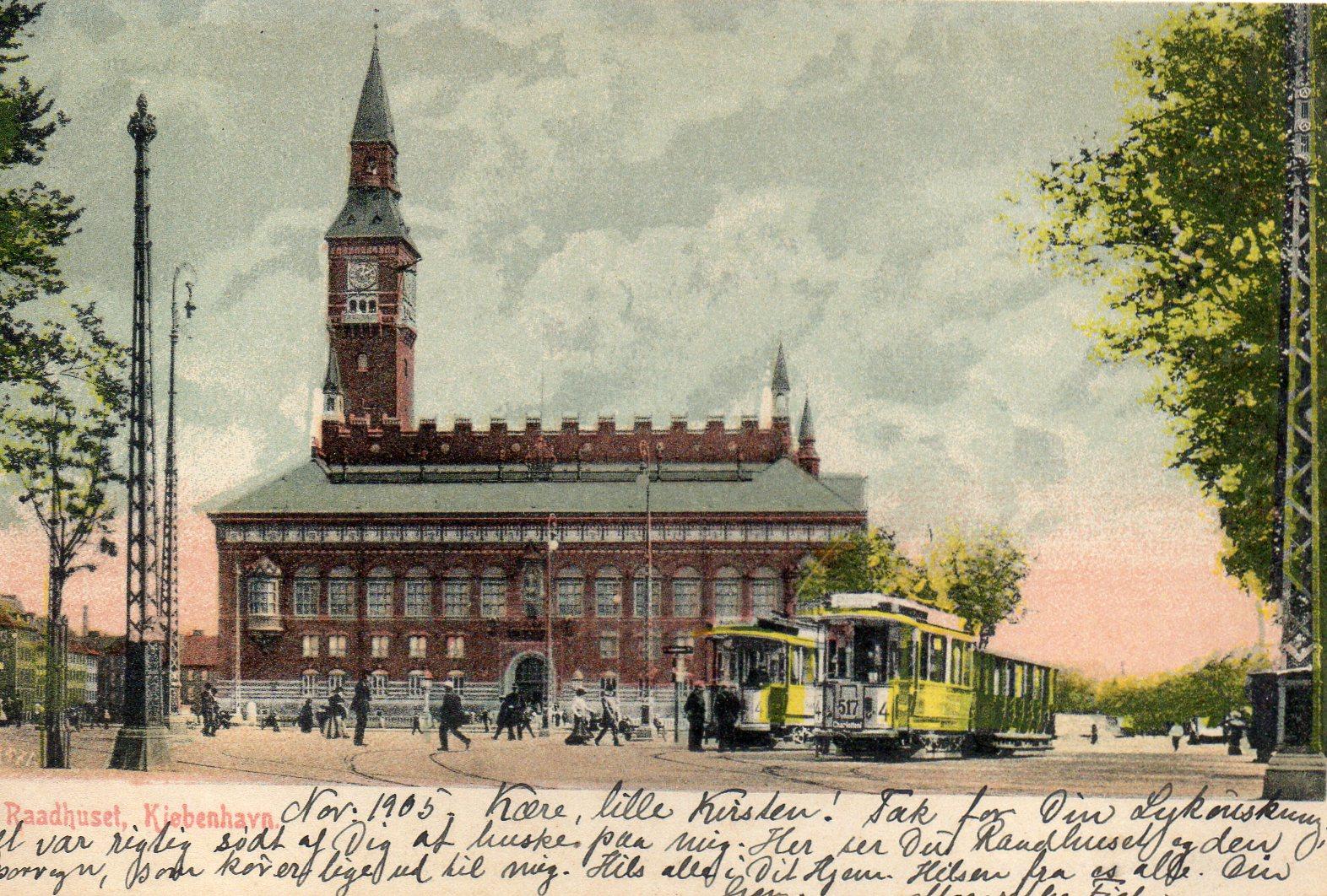 København Råhuspladsen 1905