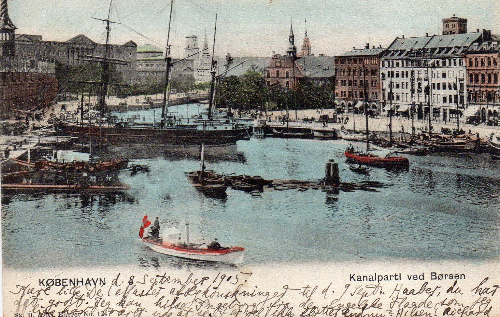 København Kanalen ved Børsen