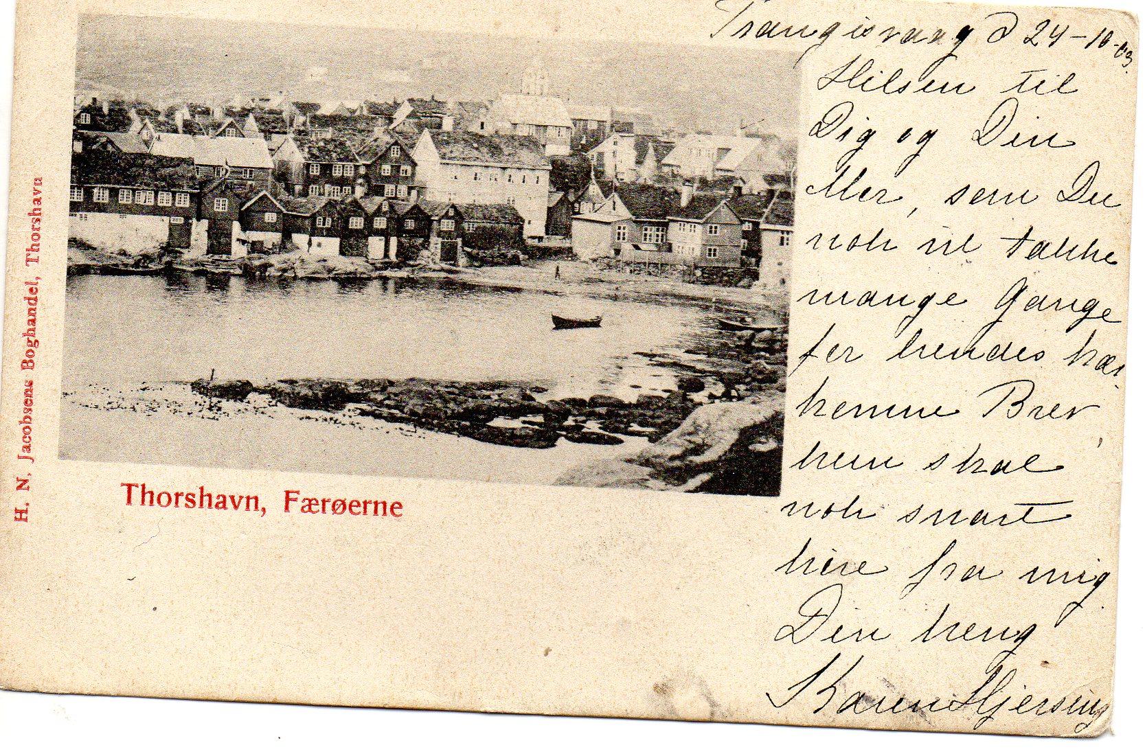 Thorshavn 1903