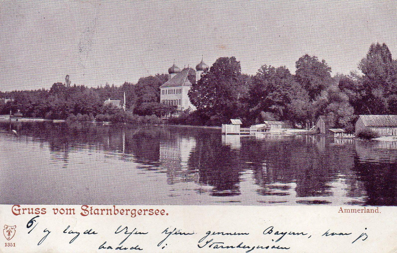Gruss vom Starnbergersee