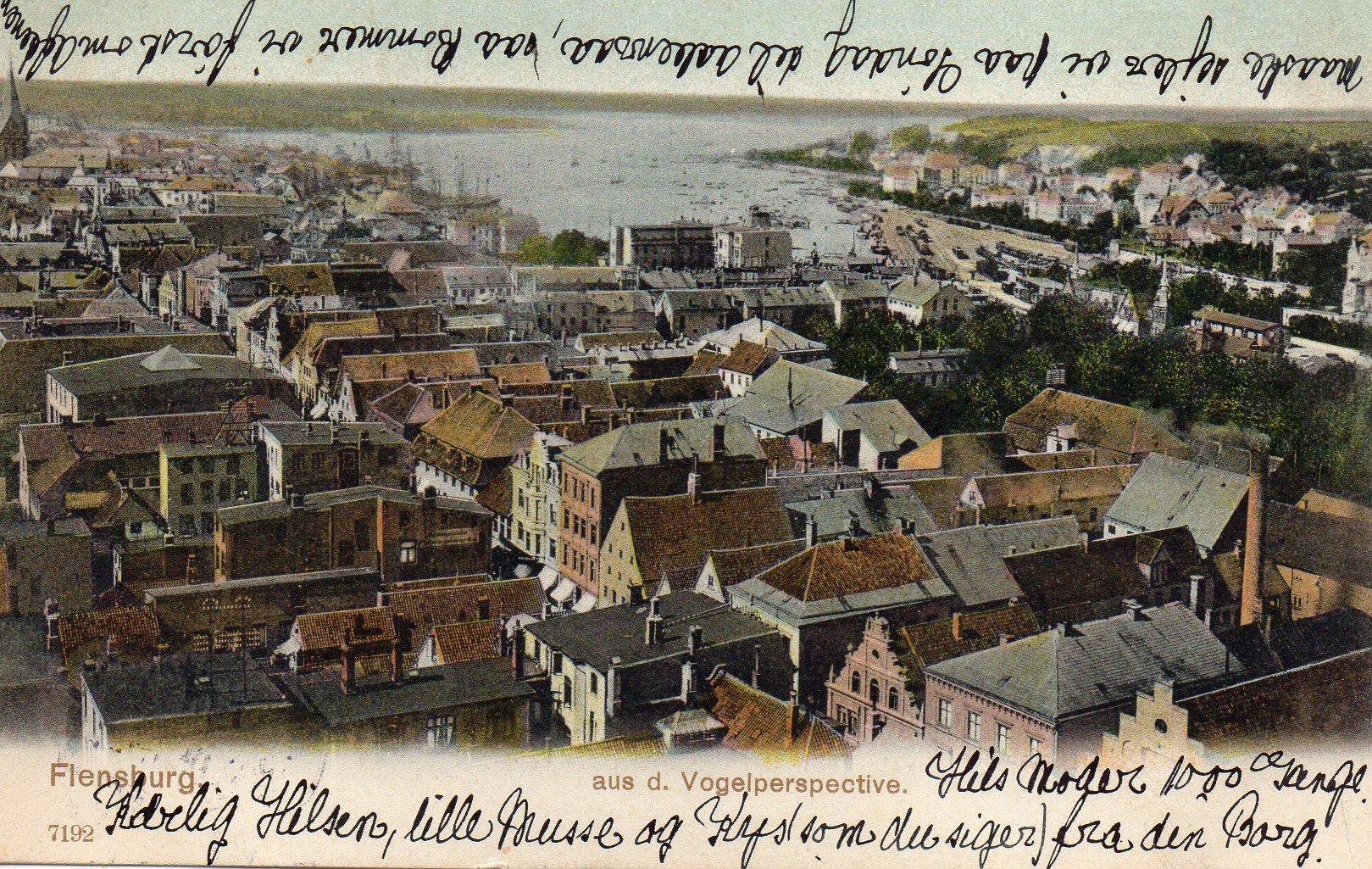 Flensburg Fugleperspektiv