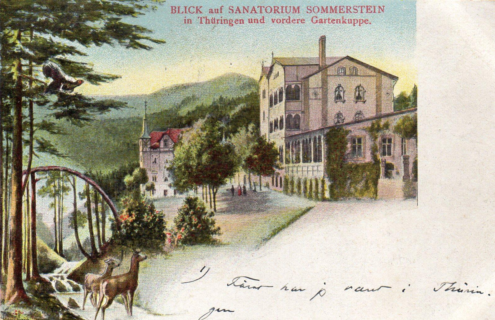 Sanatorium Sommerstein in Thüringen