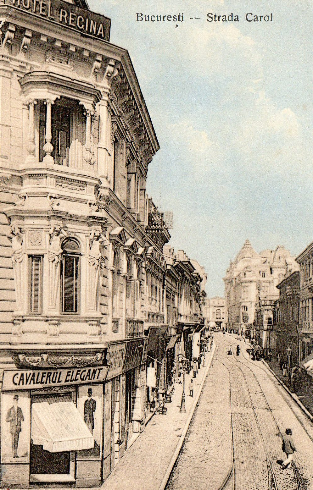 Bucarest, Strada Carol