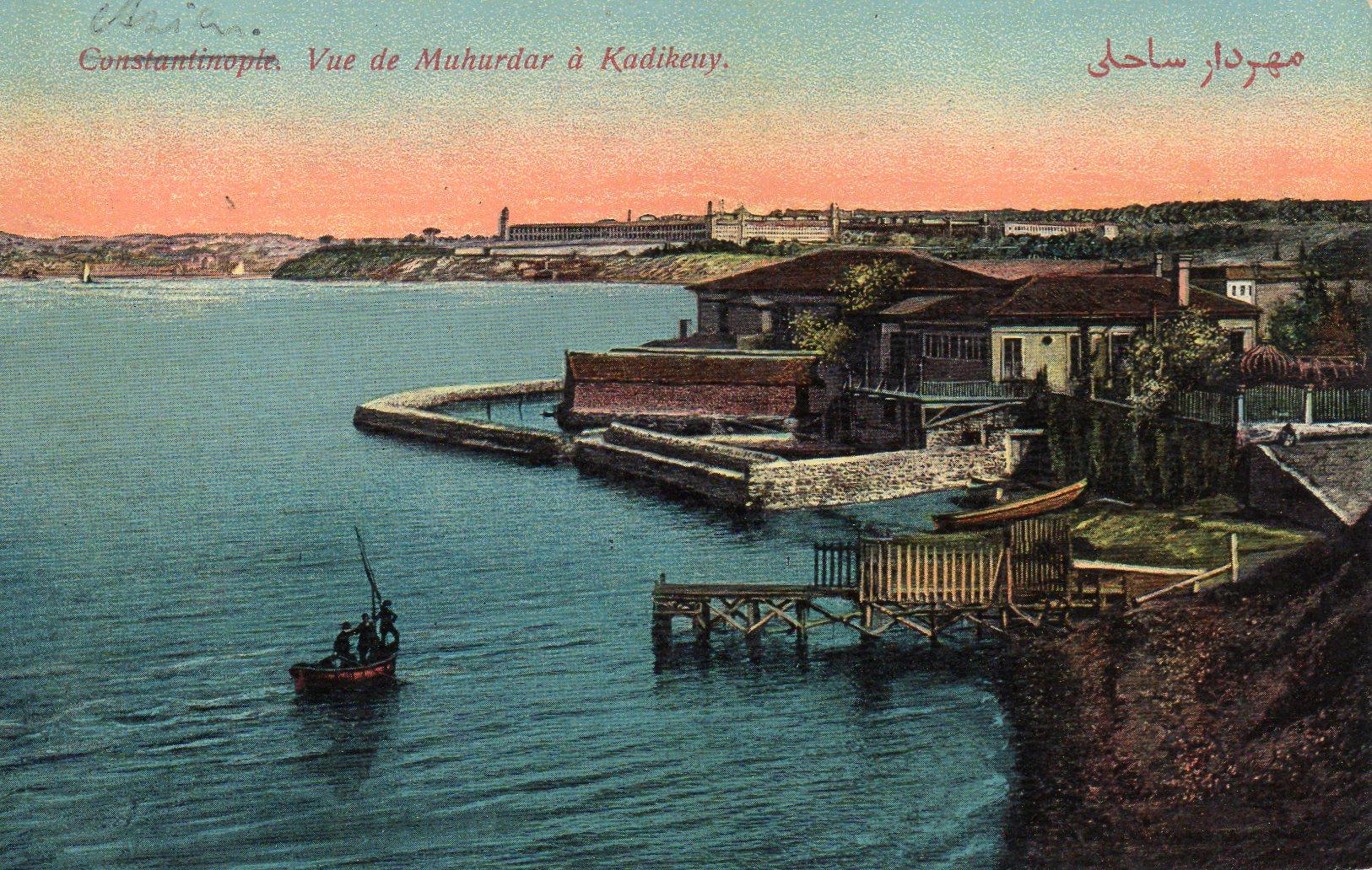 Constantinopel Vue de Muhurdar