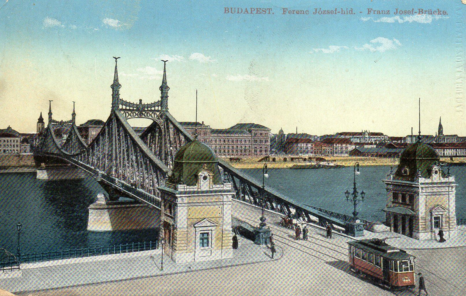 Budapest Franz Josef Brücke