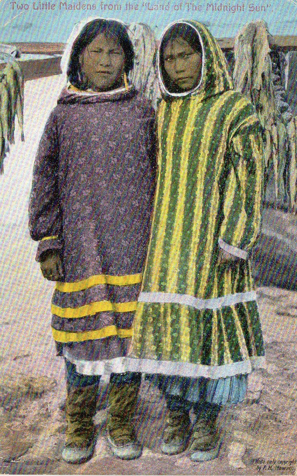 Two Alaskan Maidens