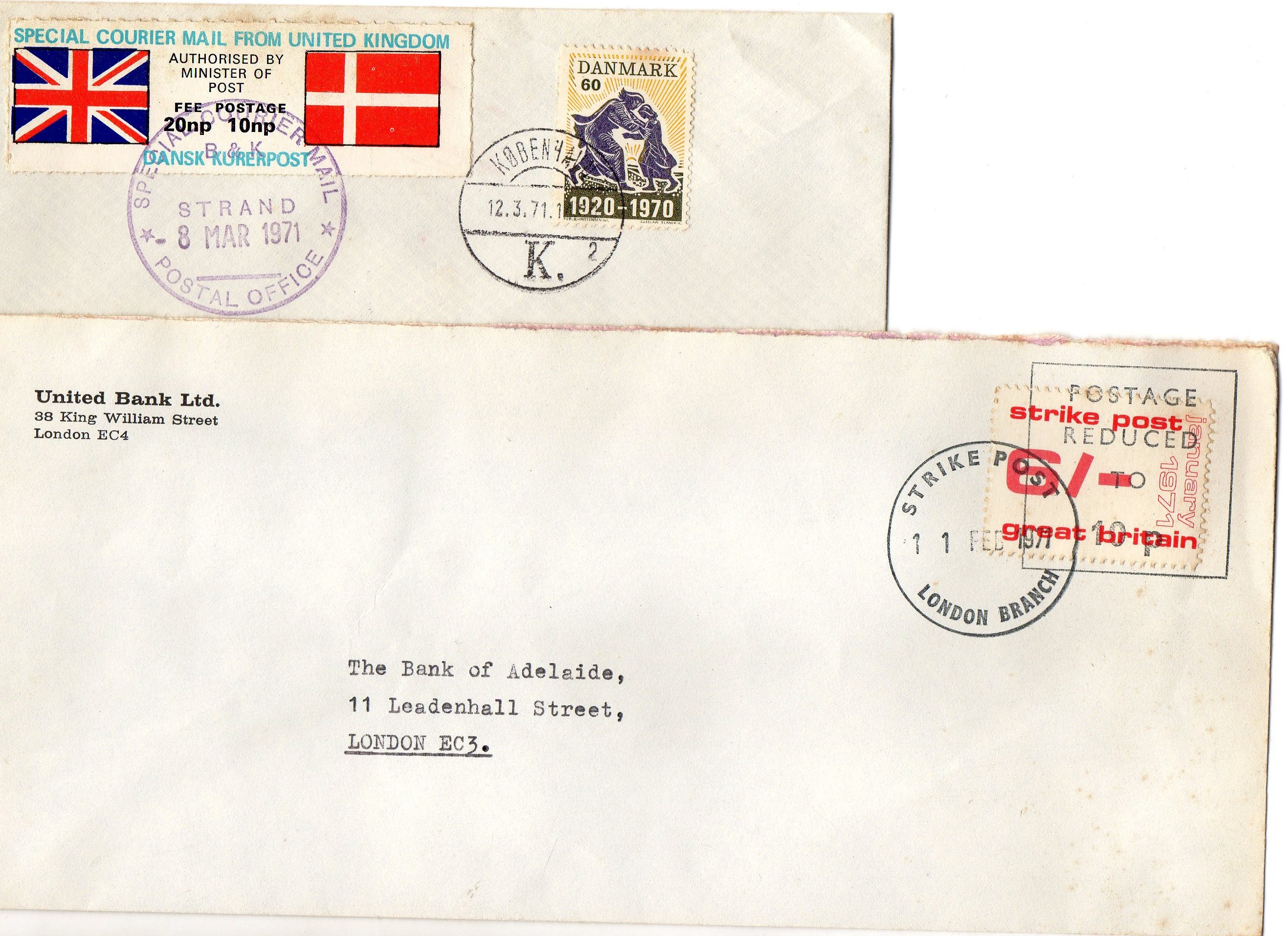 Post office Strike 1971