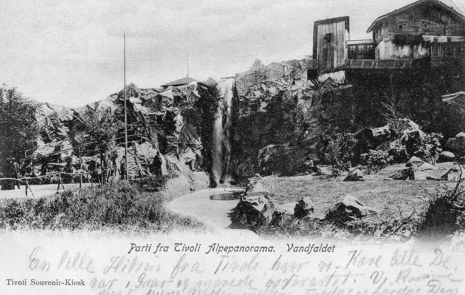 Tivoli, Alpepanorama