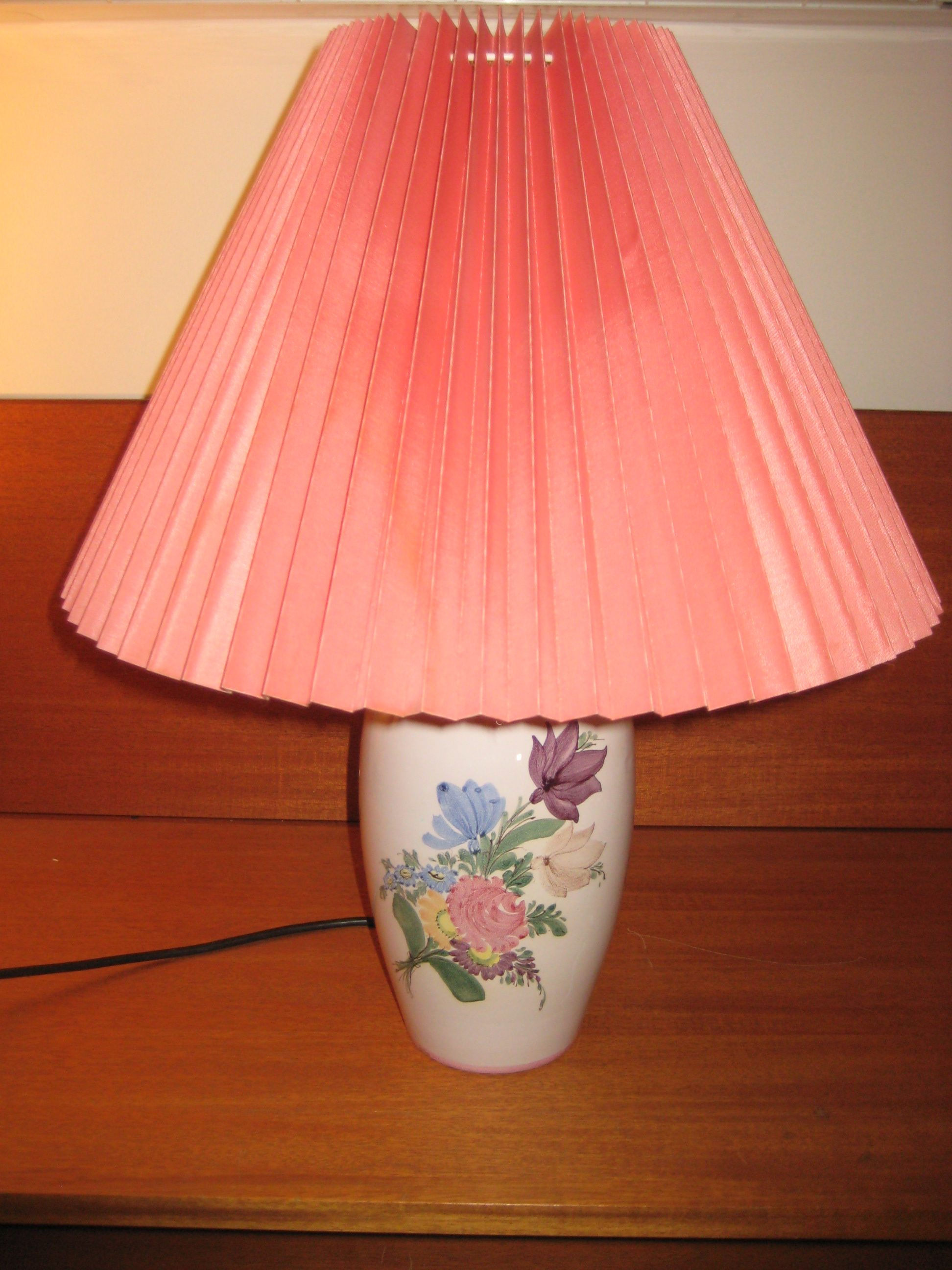 Hedebo Keramik bordlampe