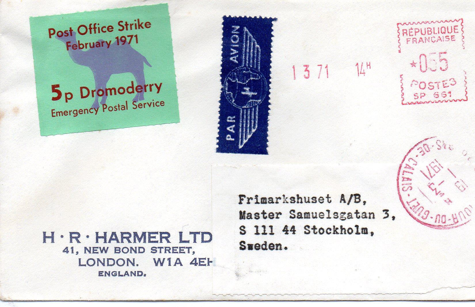 1971 Poststrejken