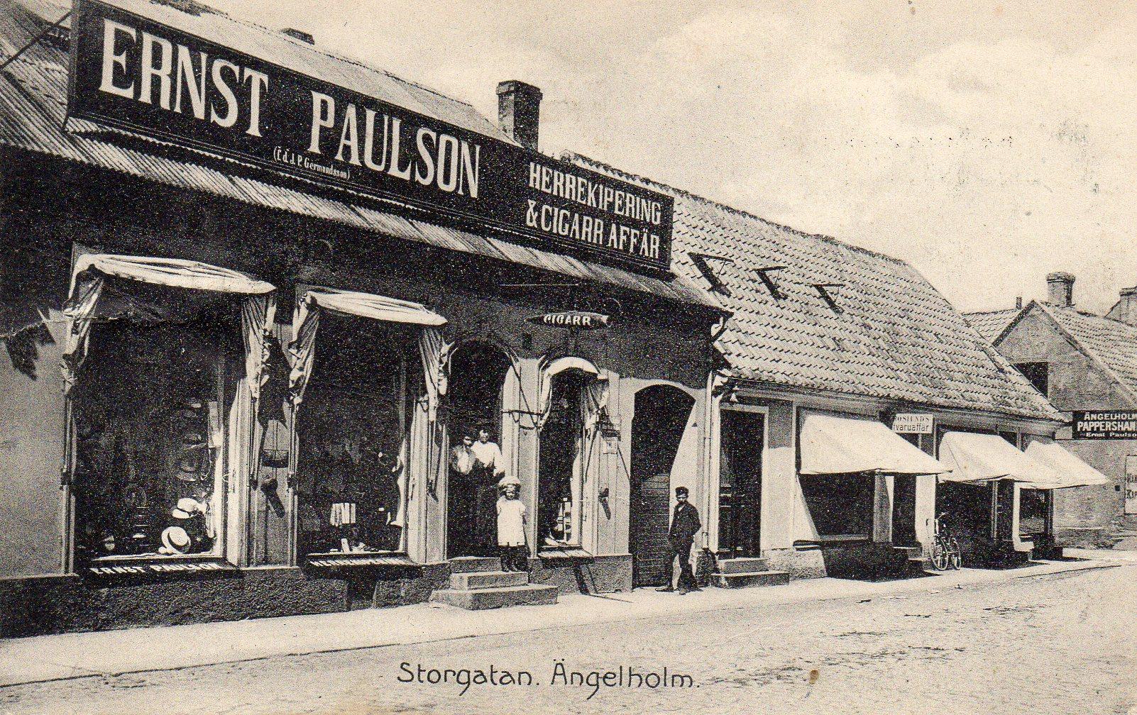 Ängelholm, Storgatan