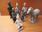 Kinesiske teracotta figurer