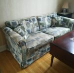Overpolstret sofa