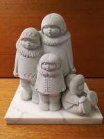 Inuit familie