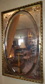 Gammelt spejl