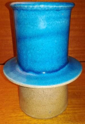 Knabstrup blå vase