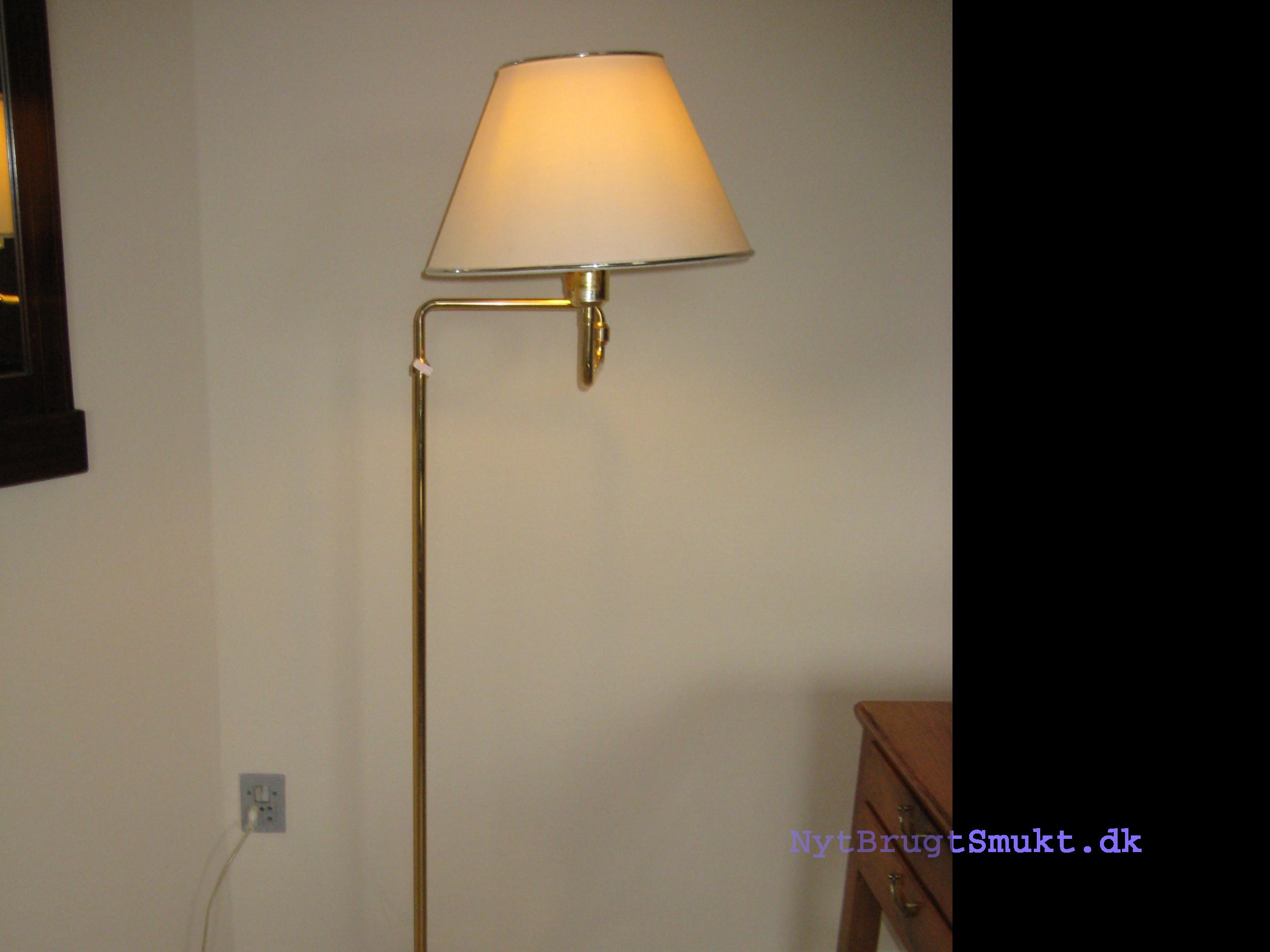 Standerlampe Brugt